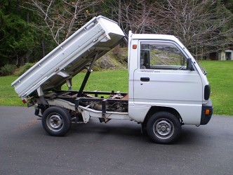 1991 suzuki carry 4x4 dumptruck. Black Bedroom Furniture Sets. Home Design Ideas