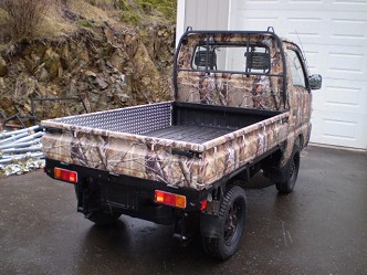 camo suzuki carry 4x4 mini truck for sale autos post. Black Bedroom Furniture Sets. Home Design Ideas