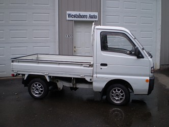 1992 suzuki carry 4x4 pickup with mags. Black Bedroom Furniture Sets. Home Design Ideas