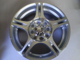 Minitruck 4 Alloy Wheels 13x5 4x115 plus Center Caps